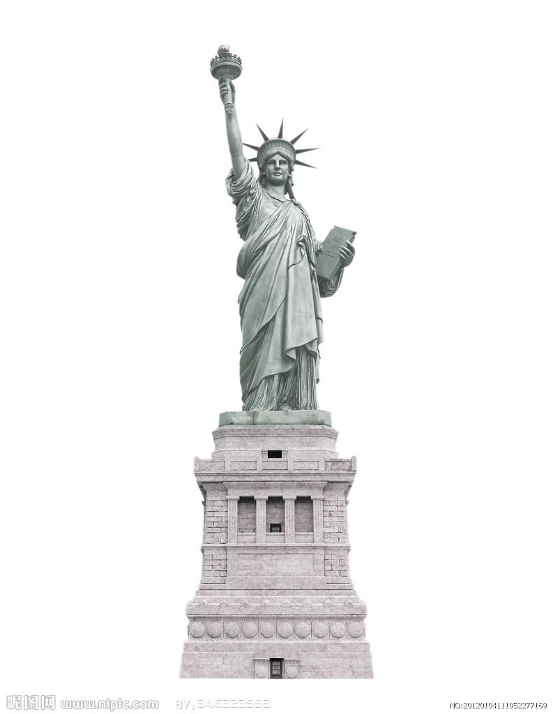 美国纽约自由女神像_自由女神像by太阳以东-3D打印模型文件免费下载模型库-魔猴网